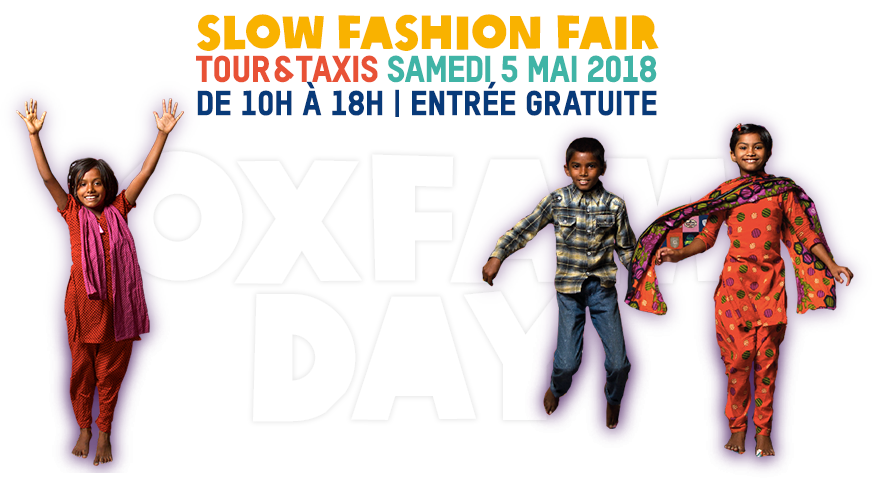 Slow Fashion Fair - Tour & Taxis - samedi 5 mai 2018 - de 10h à 18h | entrée gratuite